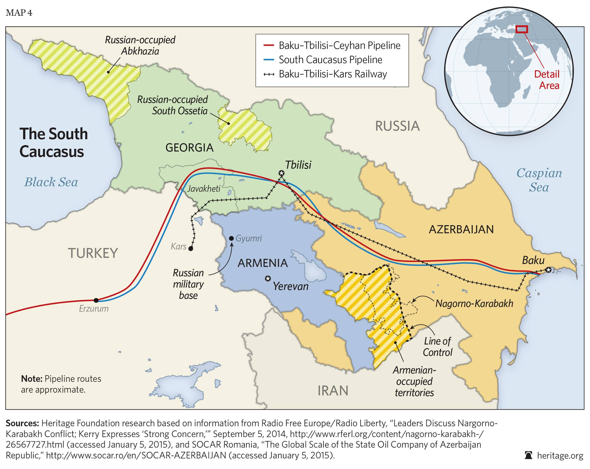 strategic estimate for caucasus region strategic estimate of the caucasus region • non-us/multinational policy goals, include nato expansion in size and influence) relations with russia.