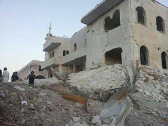 Кафр Зита, провинция Хама. Больница после авиаудара