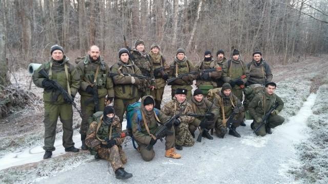 militants of 'Cossack spas'