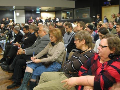 Во время презентации книги А.Дюкова, организованной клубом «Импрессум» в Таллинне / impressionum-club.eu