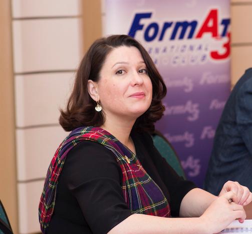 Руководительница молдовского филиала медиаклуба «Формат-А3» Ирина Иванченко