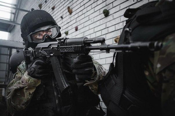 """Soldat fra spesialenheten """"Lynx"""""""