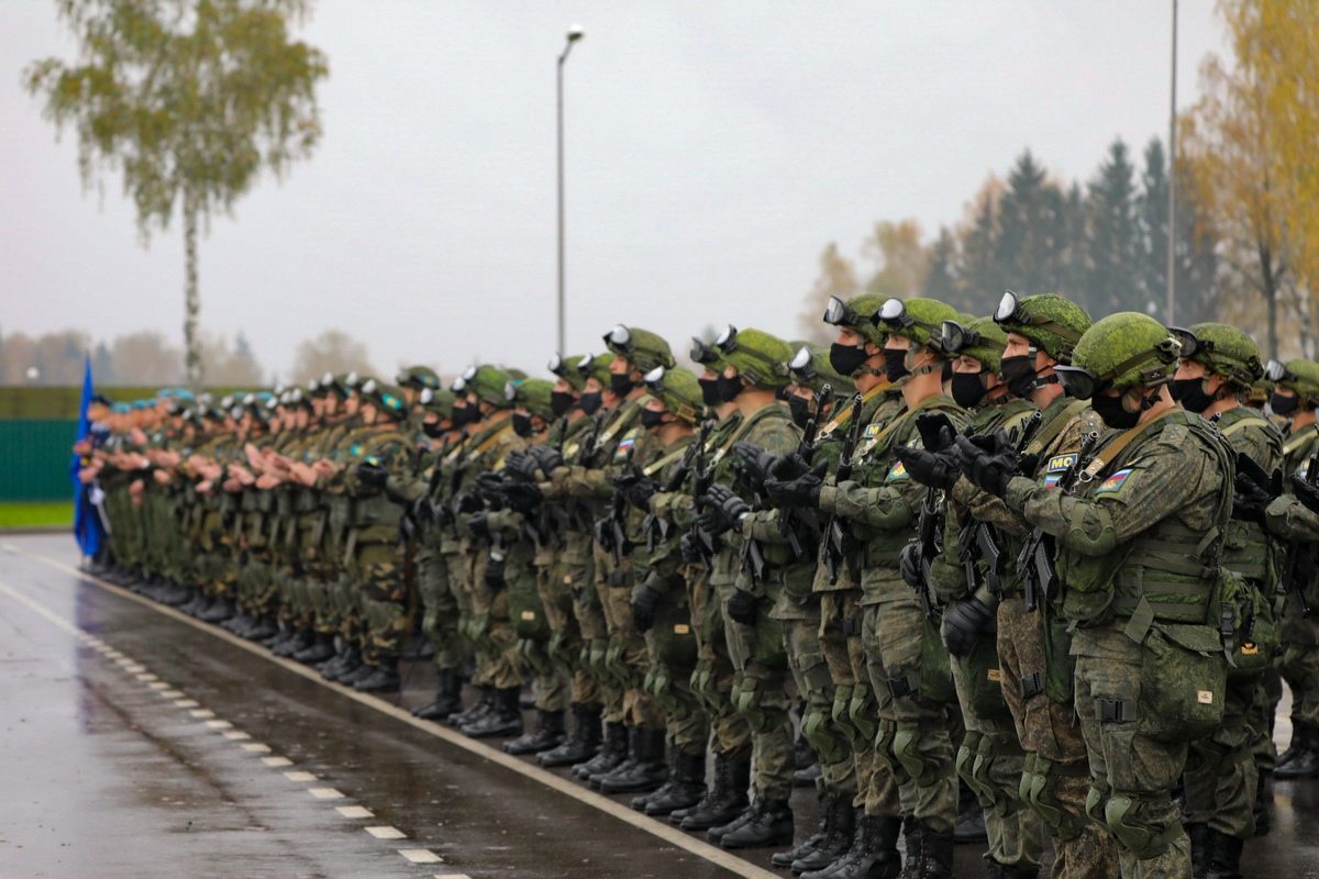 """Åpningen av militærøvelsen """"Ugjenkallelig Brorskap 2020"""""""
