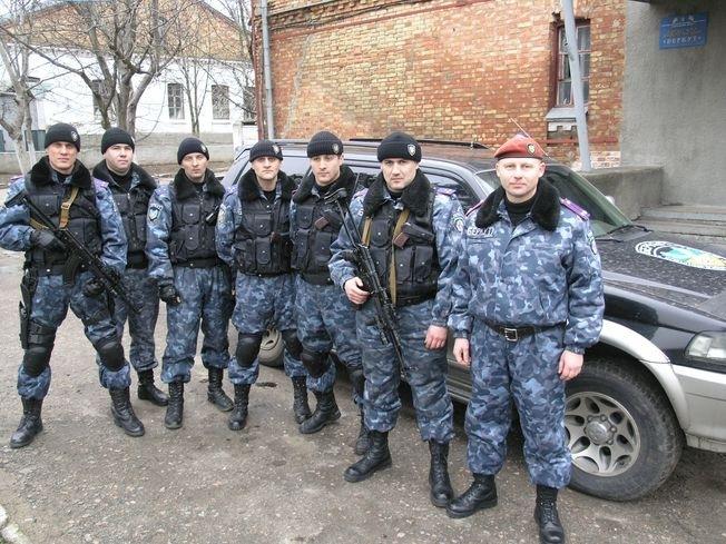 Mitglieder von Berkut-Mykolaew