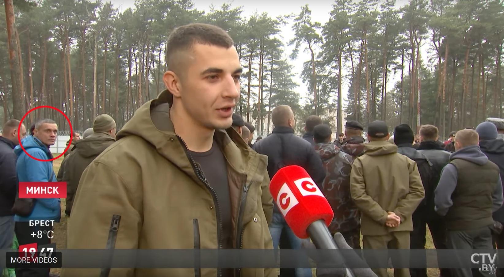 Dmitro Anzupow ist mit einem roten Kreis markiert