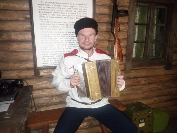 Lederen af den militære patriotiske klub Peresvet, Timofei Klimtjuk