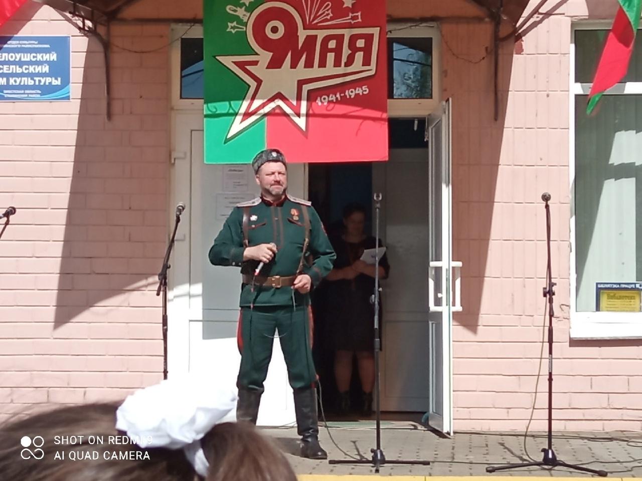 Alexander Baranovskij, leder af kosakgrenen i Stolin