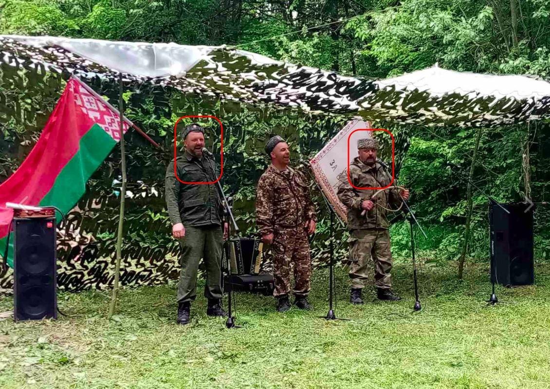 Kosacker förbereder självförsvarsenheter i Vitryssland