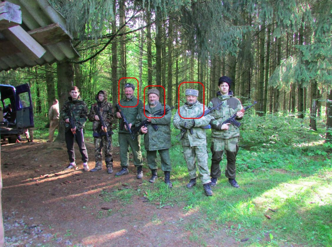 Pro-ryska kosacker förbereder självförsvarsgrupper i Belarus