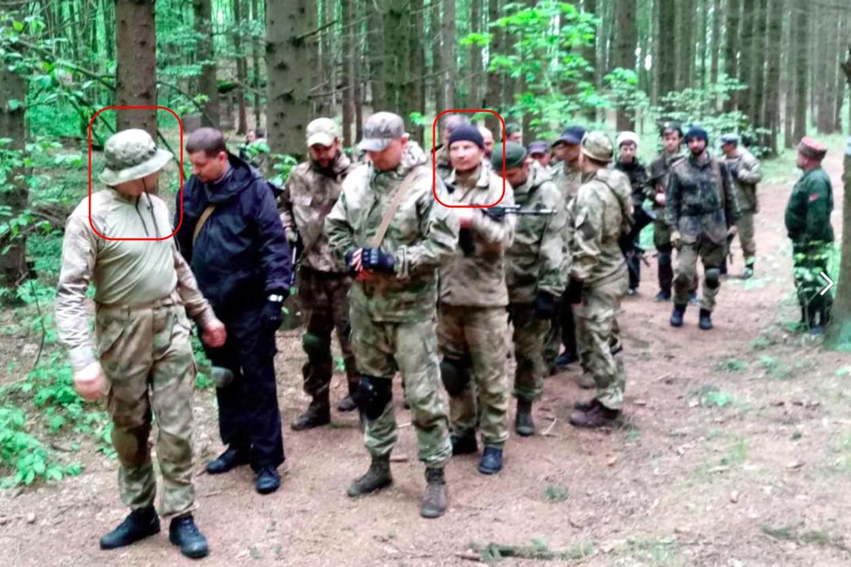Kosacker förbereder paramilitära formationer i Vitryssland