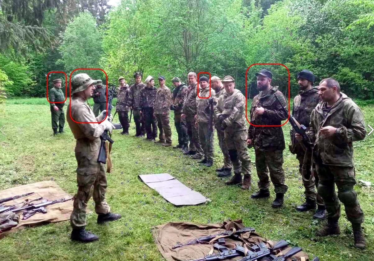 Pro-ryska kosacker förbereder paramilitära formationer i Belarus