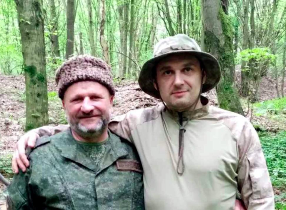 Militærpatriotiske kosakledere i Hviderusland