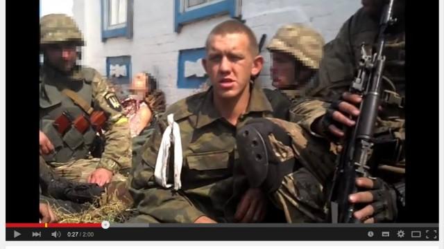 Uživatelé internetu identifikovali zajaté ruské vojáky u Ilovajsku 12