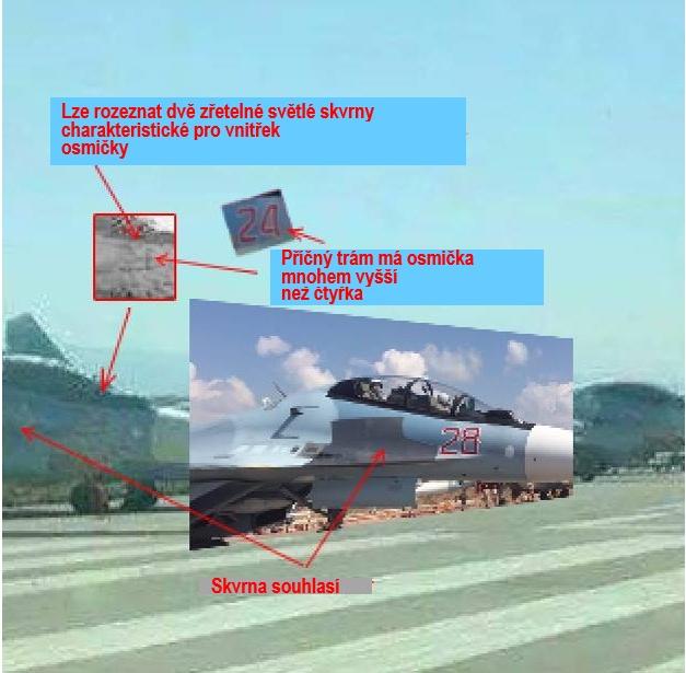 Zjištěná letadla Su-30 SM na letišti Latákie a syrské manipulace RF