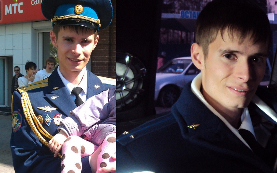 Oberleutnant Denis Doschenko. Photo aus einem sozialen Netzwerk