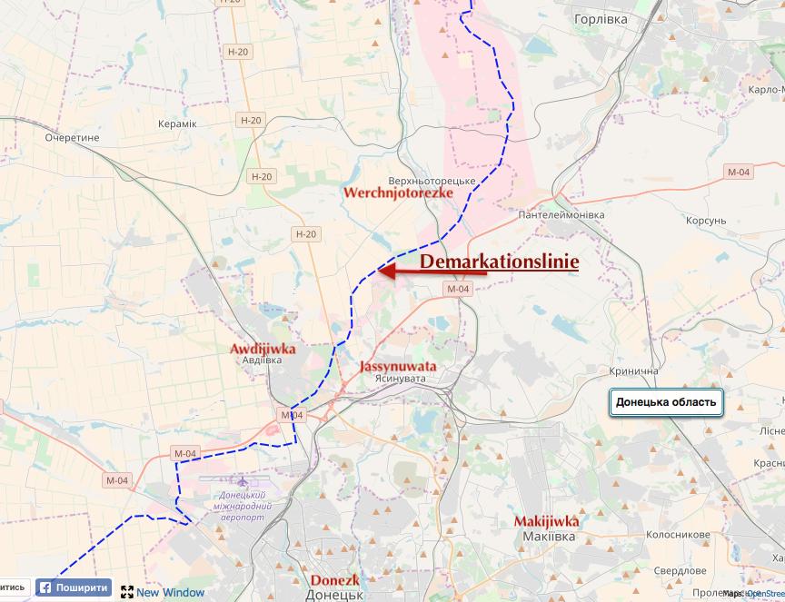 FactChecking kring befrielsen av byn Verkhnotoretske