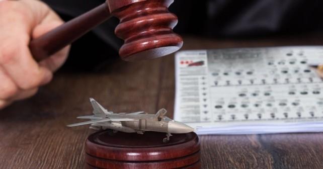 Besætningsmedlemmer på det russiske flyvevåben i Syrien