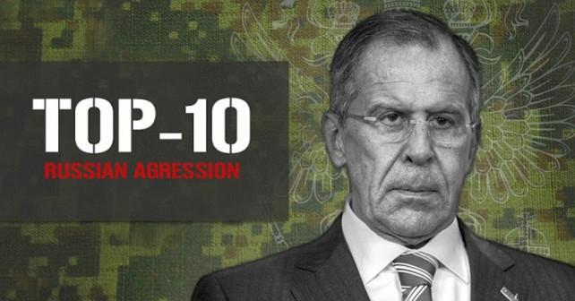 Våben involveret i det russiske militære angrebet mod Ukraine