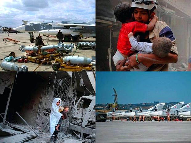 Hvem bomber Syrien