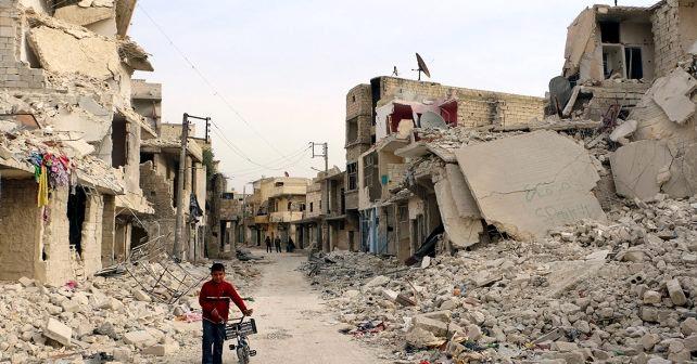 Hvem bomber civile i Syrien