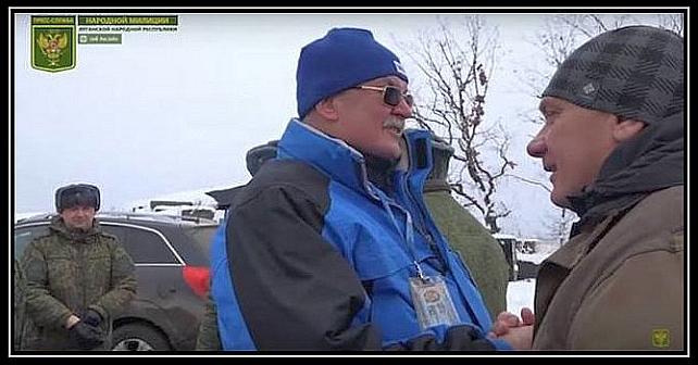 En OSCE-repræsentant i bedste forhold til LNR-terrorister
