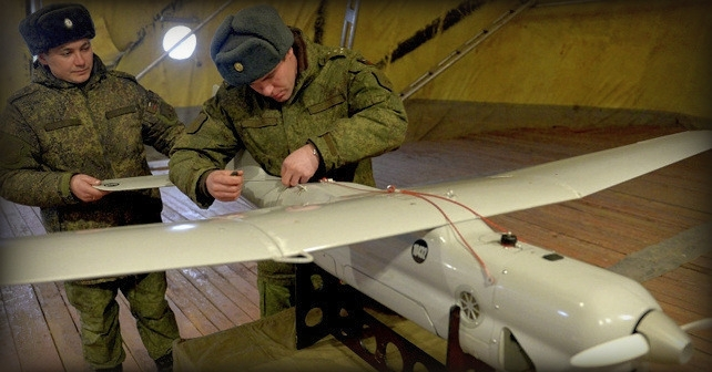 Russiske UAV Orlan-10 består af komponenter fra USA og andre lande