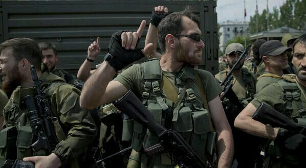 Caucasian Militants in Lugansk Oblast