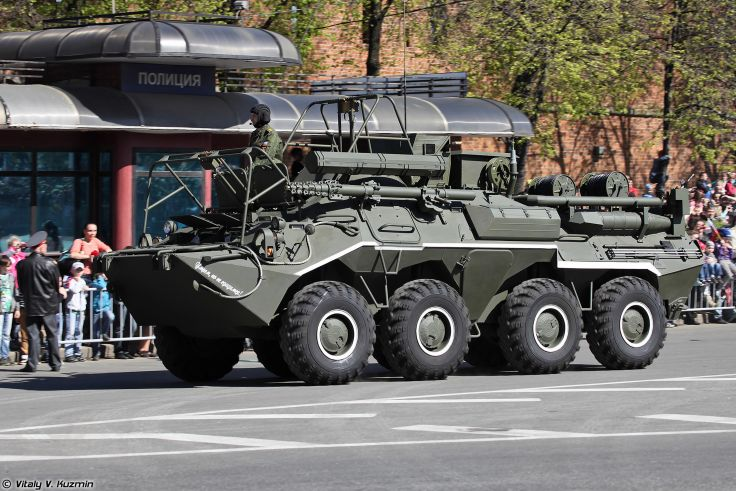 File Photo: http://www.wallpaperup.com/352918/2014_Victory_Day_Parade-in-Nizhny-Novgorod_Russia_Military_Russian_Army_Red-Star_armore_R-166-0_5_signal_vehicle_on_K1Sh1_base_3_4000x2667.html