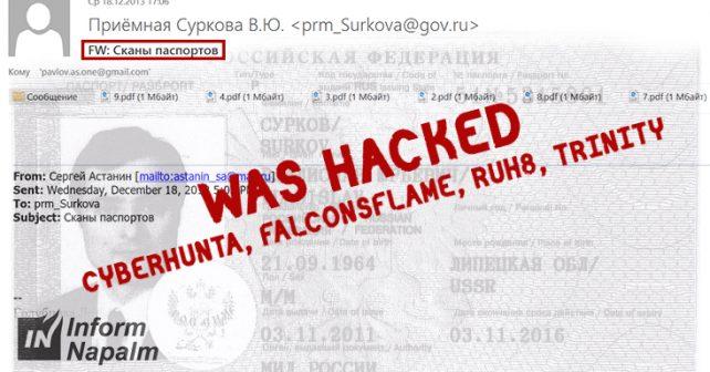 SurkovLeaks: 1GB mail cache retrieved by Ukrainian