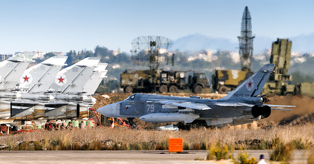Russia's Hmeymim Airbase ile ilgili görsel sonucu