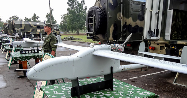 The ninth Russian drone type identified in Donbas - InformNapalm org