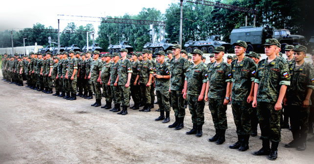 Units, Military Equipment of the Russian Armed Forces Arrive