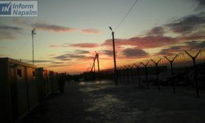 Le camp à Valuïky, la région de Belgorod
