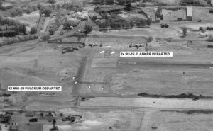Nuotraukos iš JAV ginkluotųjų pajėgų Afrikos vadovybės pranešimo