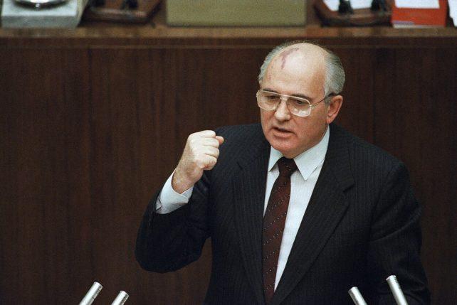 Mikhail Gorbatjov. Foto: AP