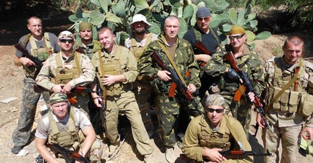 Özel askeri şirket Wagner'den paralı askerler