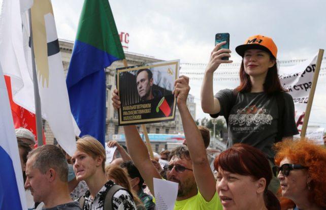 Protestene i Khabarovsk fortsetter