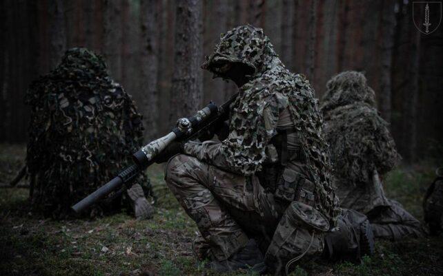 Snigskytter i den litauiske hærs specialstyrker