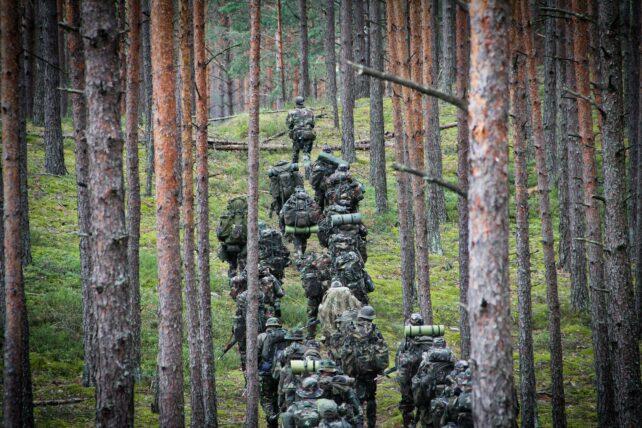 Litauiske borgere deltar aktivt i det litauiske skytterforbundet