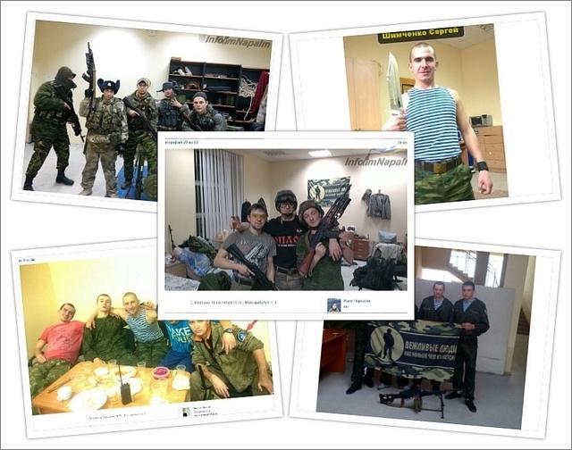 Logement for russiske terroristtropper i Ukraina