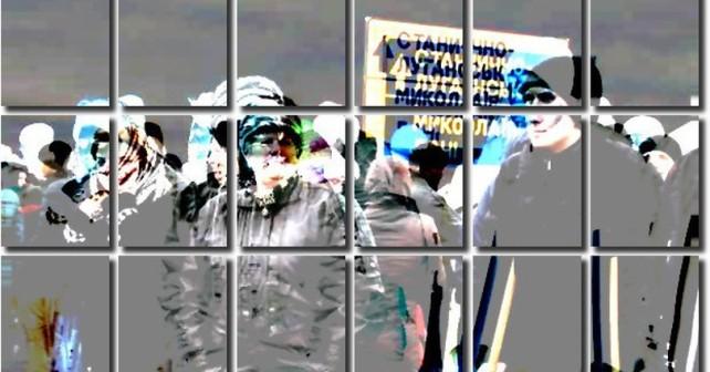 Blodige provokasjoner i Donbass