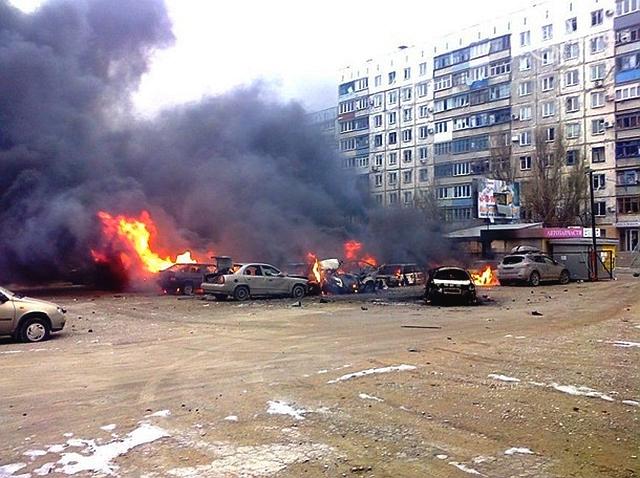 Pro-russiske angrep