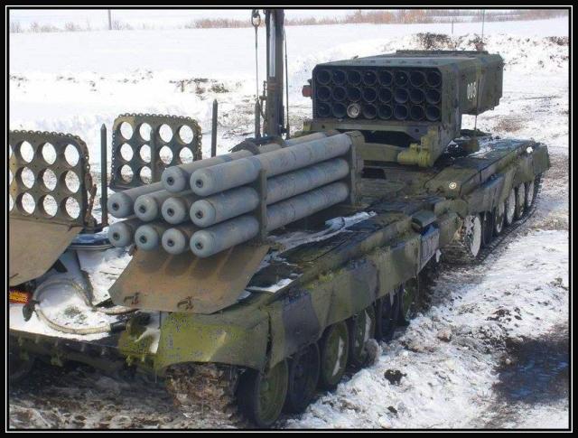 TOS-1-ammunisjon