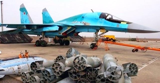 SU-34-piloter som kan settes inn mot Ukraina