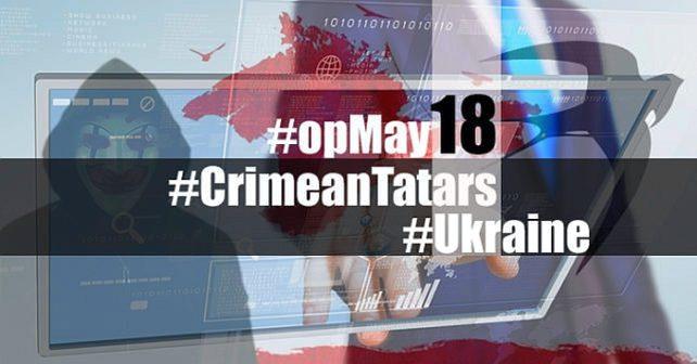 Ukrainske hackere på Krimhalvøya #OpMay18