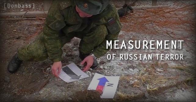 Russland trenger iscenesatt artilleribeskytning av Donbass
