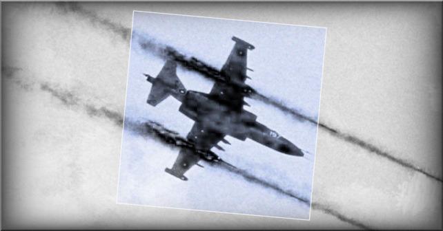 Luftangrep av den syriske byen Lataminah