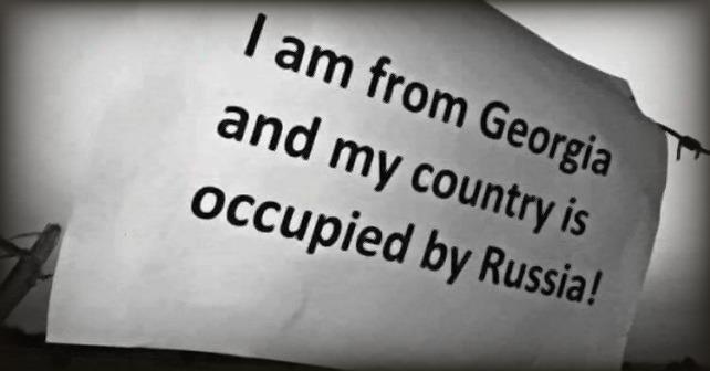 Vi husker 9-årsdagen for den russiske invasjonen av Georgia i 2008