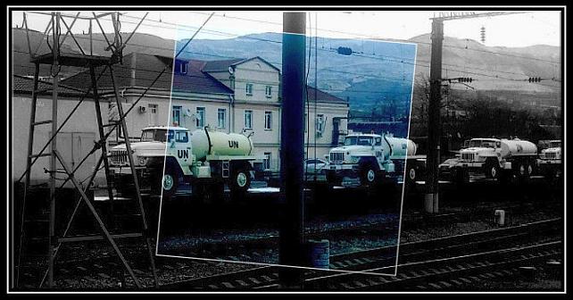 Russland forbereder levering av FN-merket utstyr fra Novorossijsk