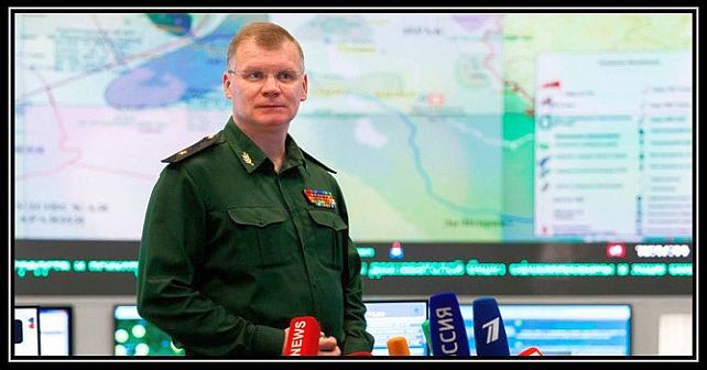 Det russiske forsvarsdepartementets talsmann Igor Konashenkov løy for å motbevise SBU
